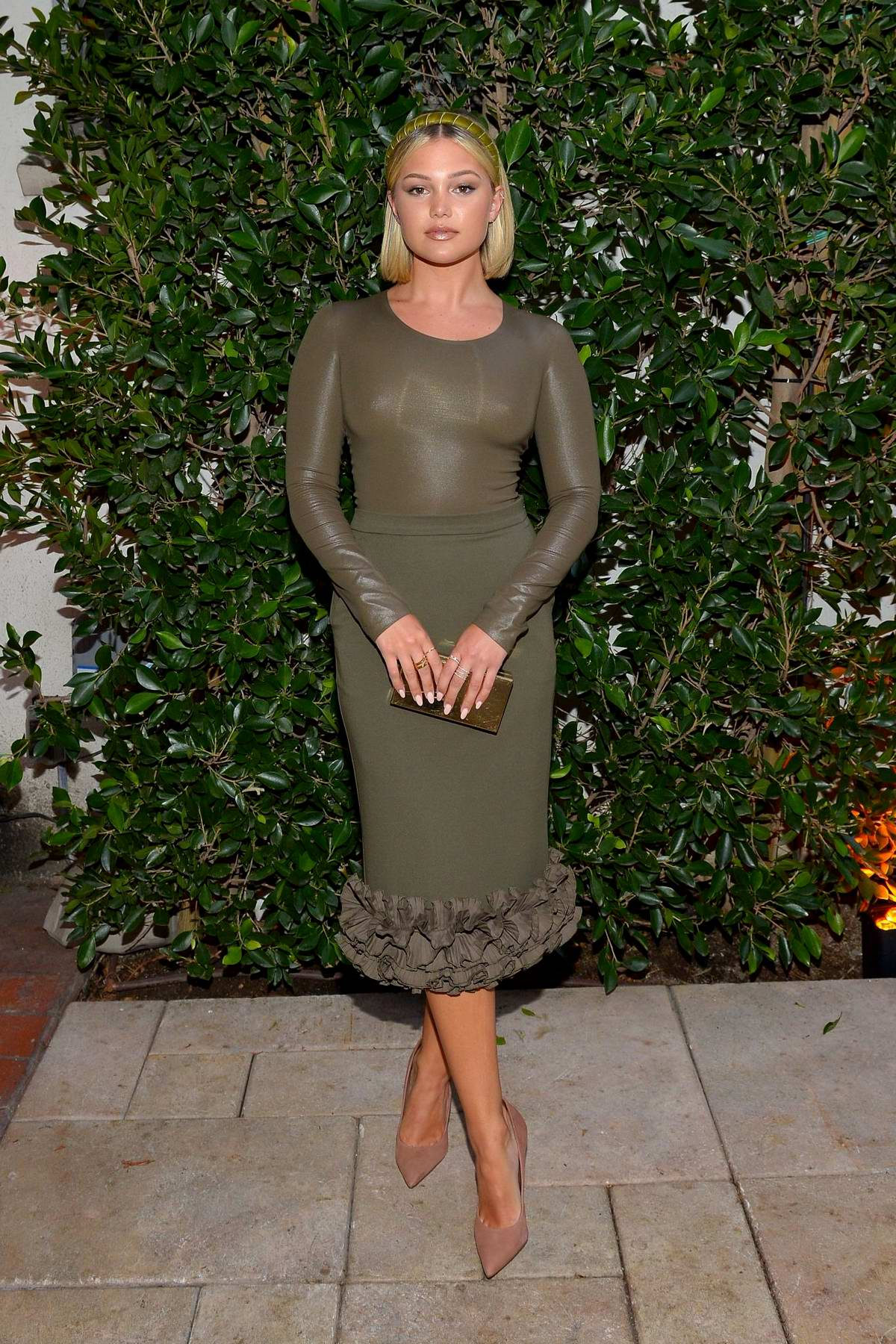 Olivia Holt attends the 2019 Women In Film Max Mara Face Of The Future in Los Angeles