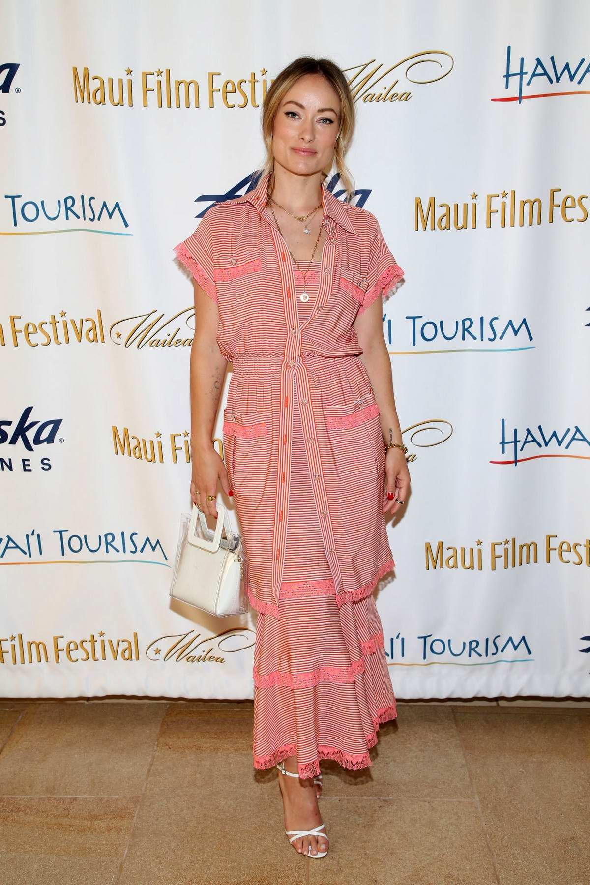 Olivia Wilde attends the 2019 Maui Film Festival - Day 5 in Wailea, Hawaii