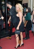 Pamela Anderson attends the premiere of the show 'Bionic Showgirl' with Viktoria Modesta at the Crazy Horse in Paris, France