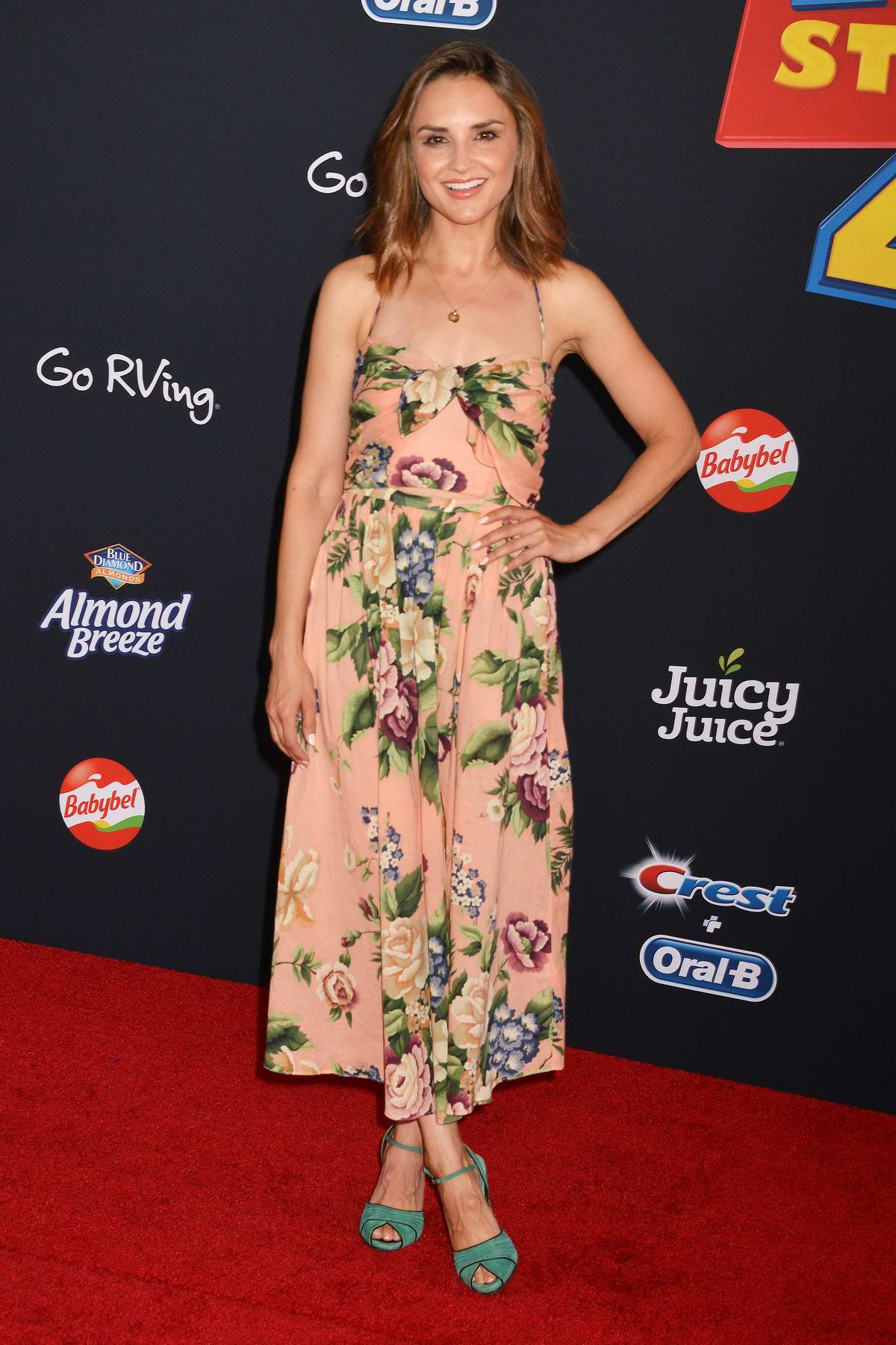 Rachael Leigh Cook attends the World Premiere of 'Toy Story 4' at the El Capitan Theater in Hollywood, California