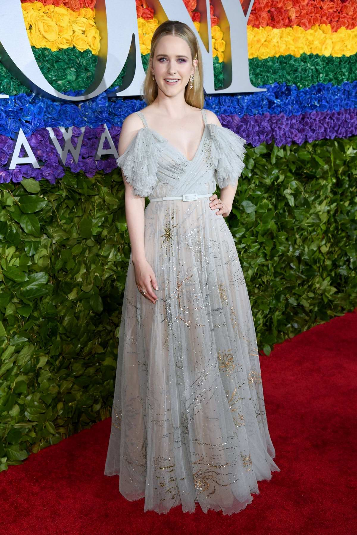 Rachel Brosnahan attends the 73rd annual Tony Awards at Radio City Music Hall in New York City