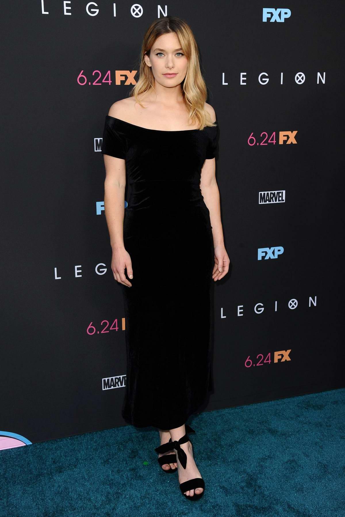 Rachel Keller attends the Premiere of FX's 'Legion' Season 3 in Hollywood, California