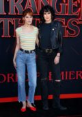 Rumer and Tallulah Willis attend the premiere of Netflix's 'Stranger Things' Season 3 in Santa Monica, California