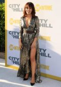 Sarah Shahi attends 'City On A Hill' TV Show Premiere in New York City