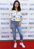 selena gomez attends the big slick celebrity weekend bowling tournament at pinstripes at prairiefire in kansas city, missouri-080619_6