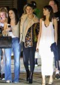 Selena Gomez enjoys a girls night out at Nobu in Malibu, California
