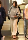 Selena Gomez steps out in her PJs to watch 'Rocketman' with her friends at the Arclight in Sherman Oaks, California