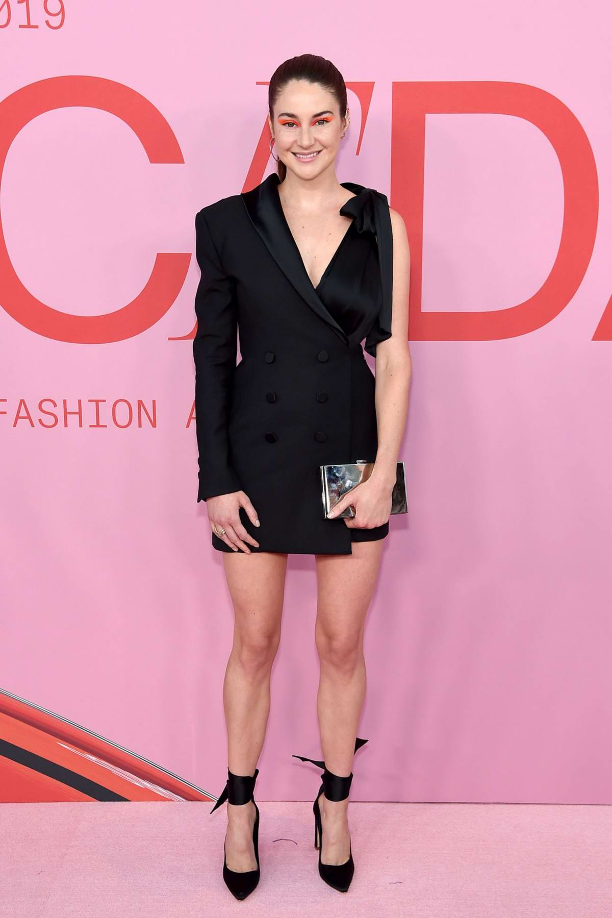 Shailene Woodley attends the 2019 CFDA Fashion Awards at Brooklyn Museum in New York City