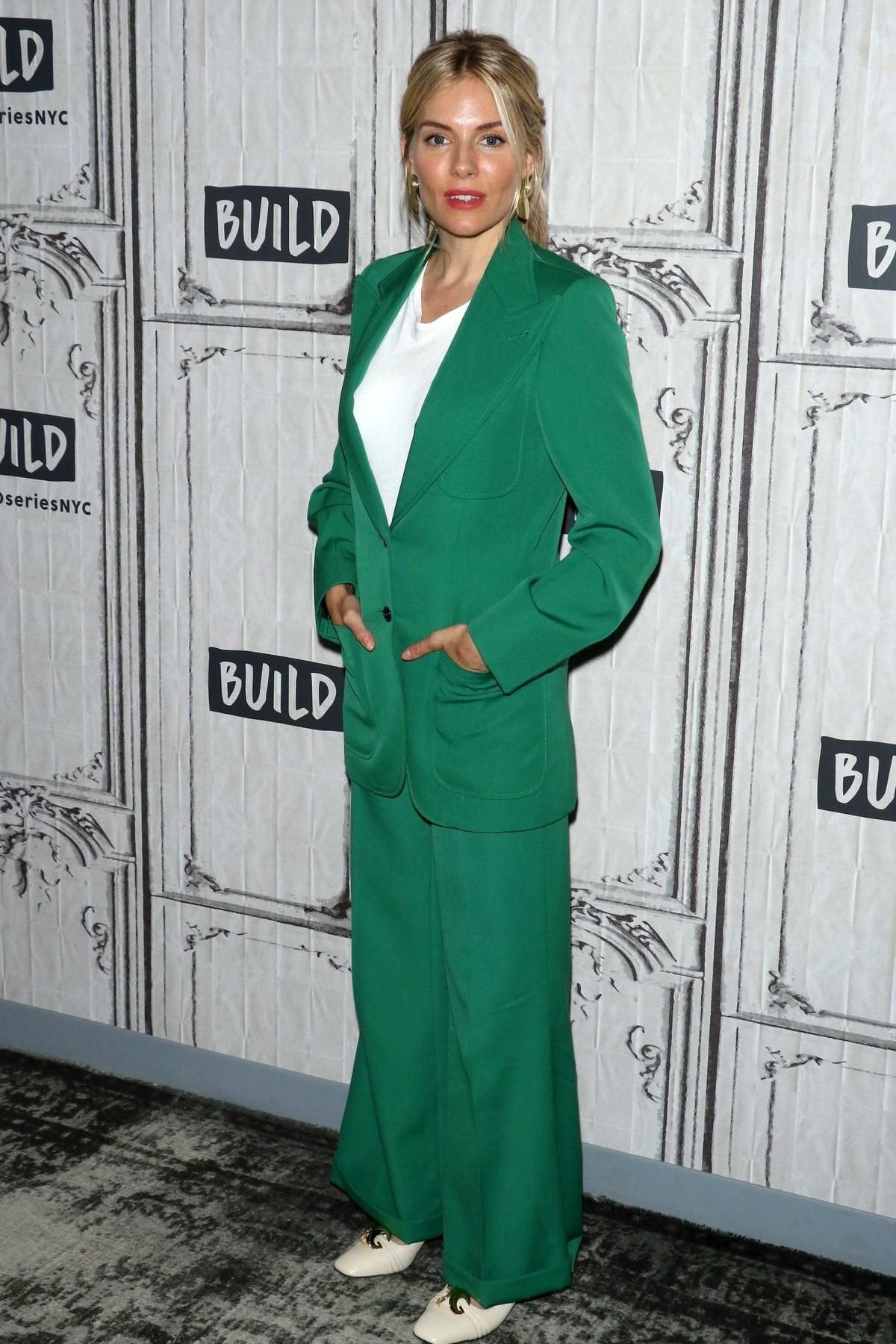 Sienna Miller visits the Build Series to discuss 'The Loudest Voice' at Build Studio in New York City