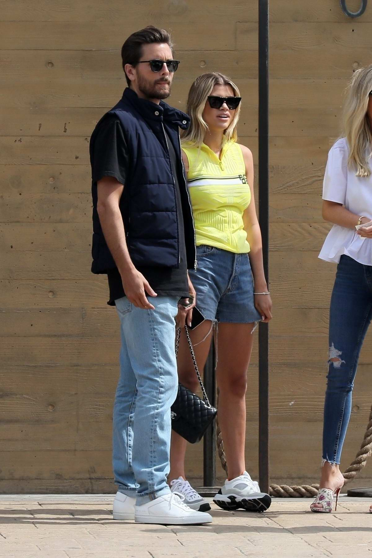 7062178dddbe0 sofia richie and scott disick grab lunch with friends at nobu in ...