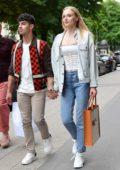 Lisa Manoban from Blackpink seen leaving Celine boutique during Menswear S/S 2020, Paris Fashion Week in Paris, France