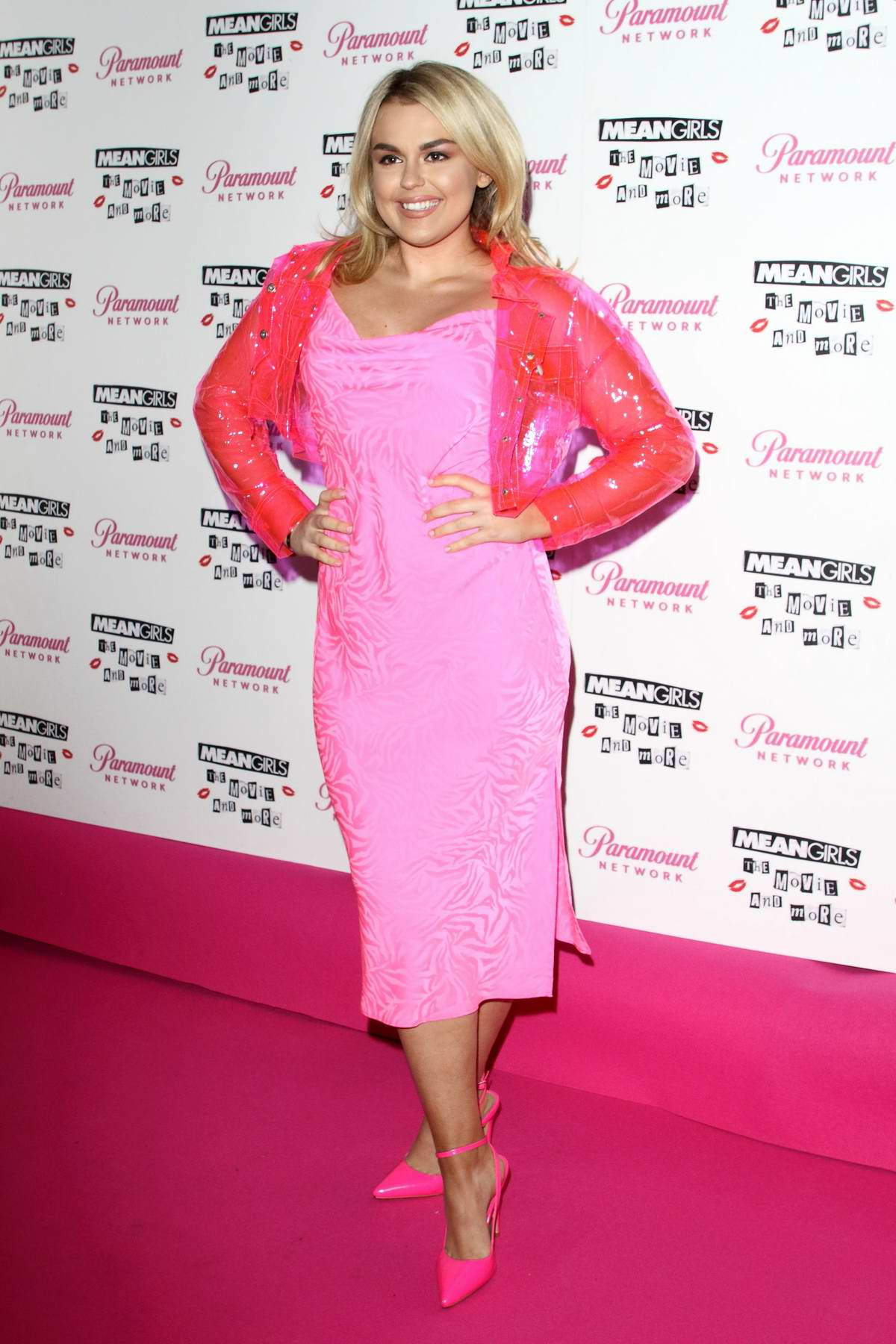 Tallia Storm attends a screening event of 'Mean Girls: The Movie and More' in London, UK