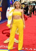 Tallia Storm attends the European Premiere of 'Toy Story 4' at Odeon Luxe Leicester Square in London, UK