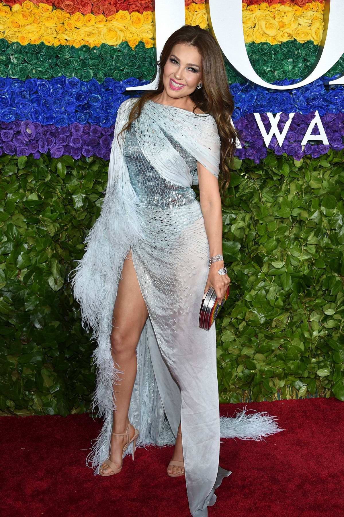 Thalia attends the 73rd annual Tony Awards at Radio City Music Hall in New York City
