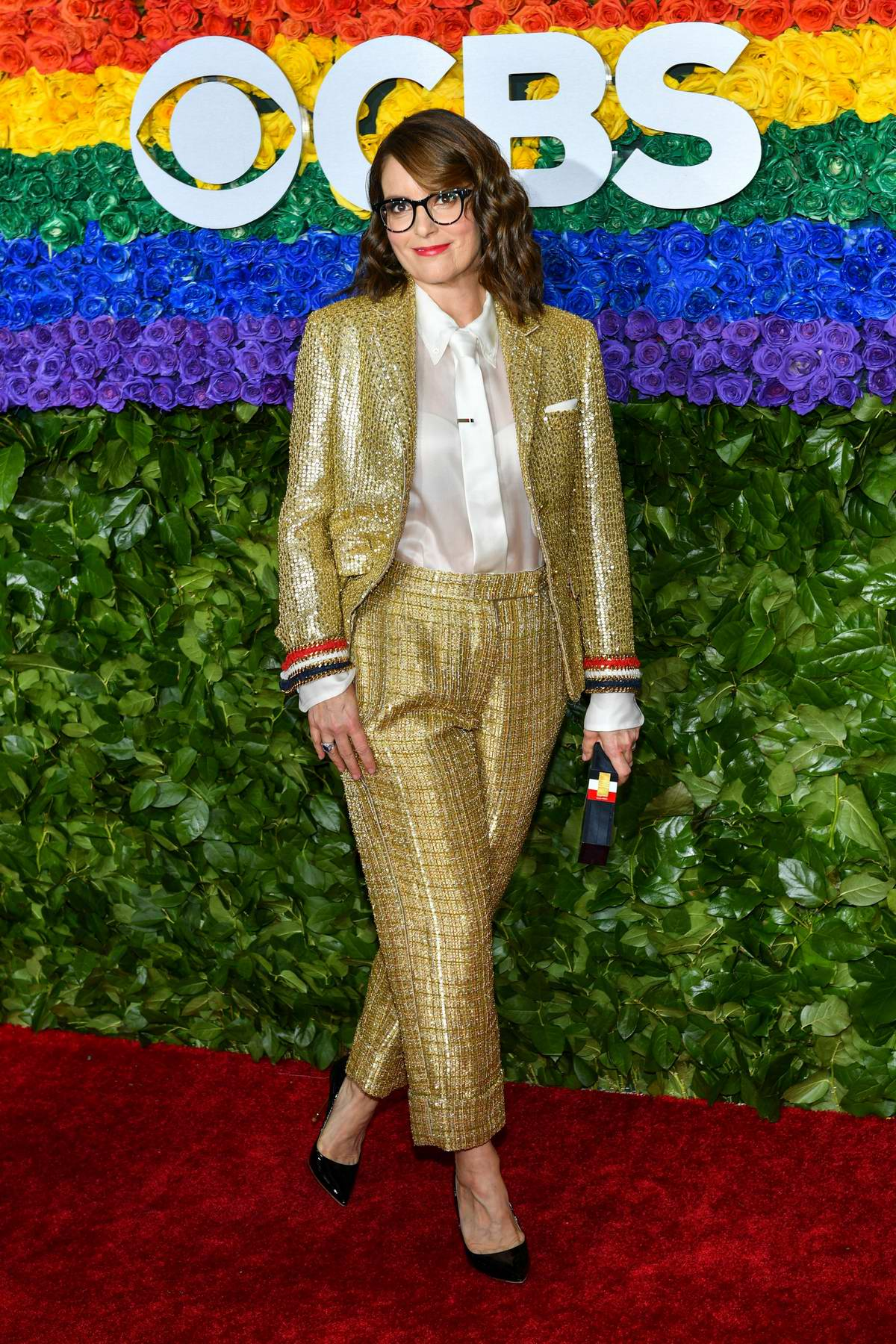 Tina Fey attends the 73rd annual Tony Awards at Radio City Music Hall in New York City