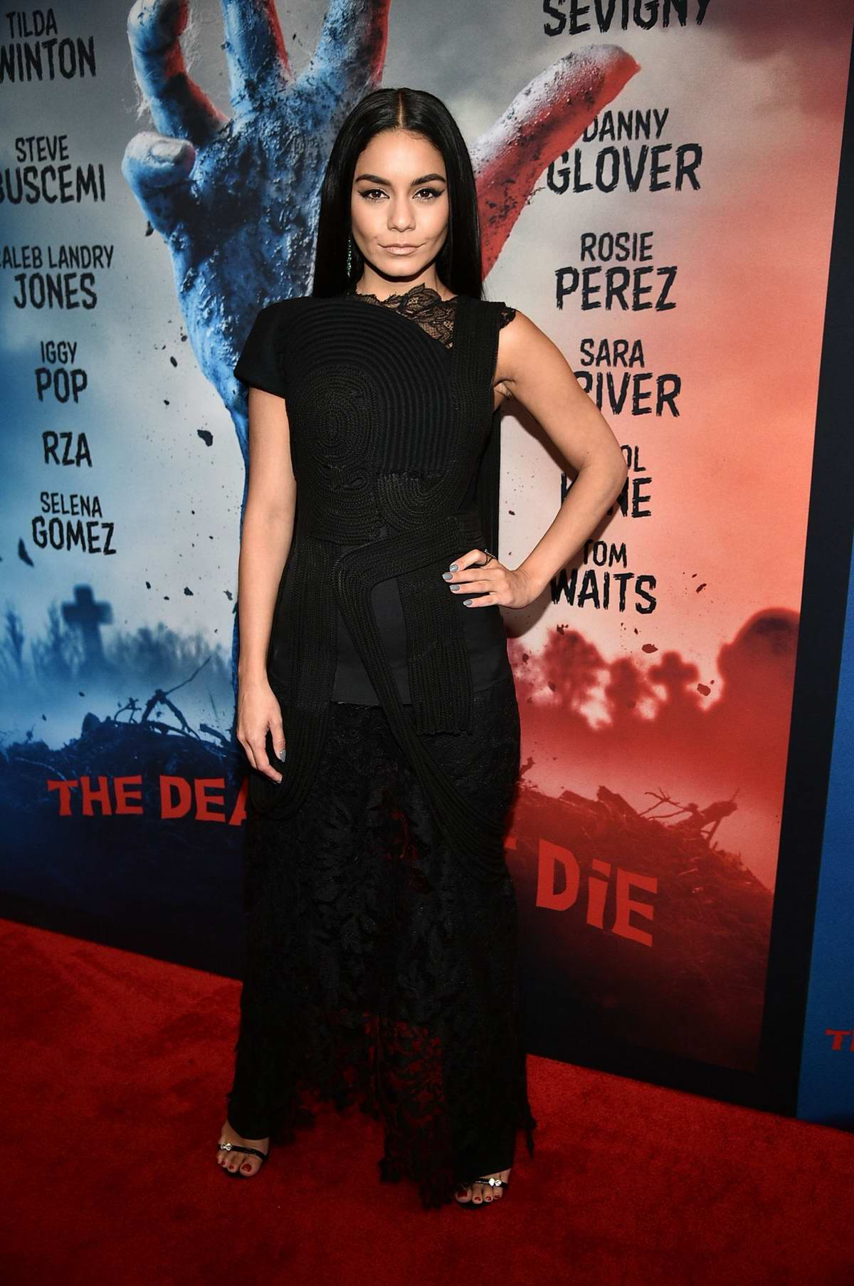 Vanessa Hudgens attends 'The Dead Don't Die' film premiere at the MoMa in New York City
