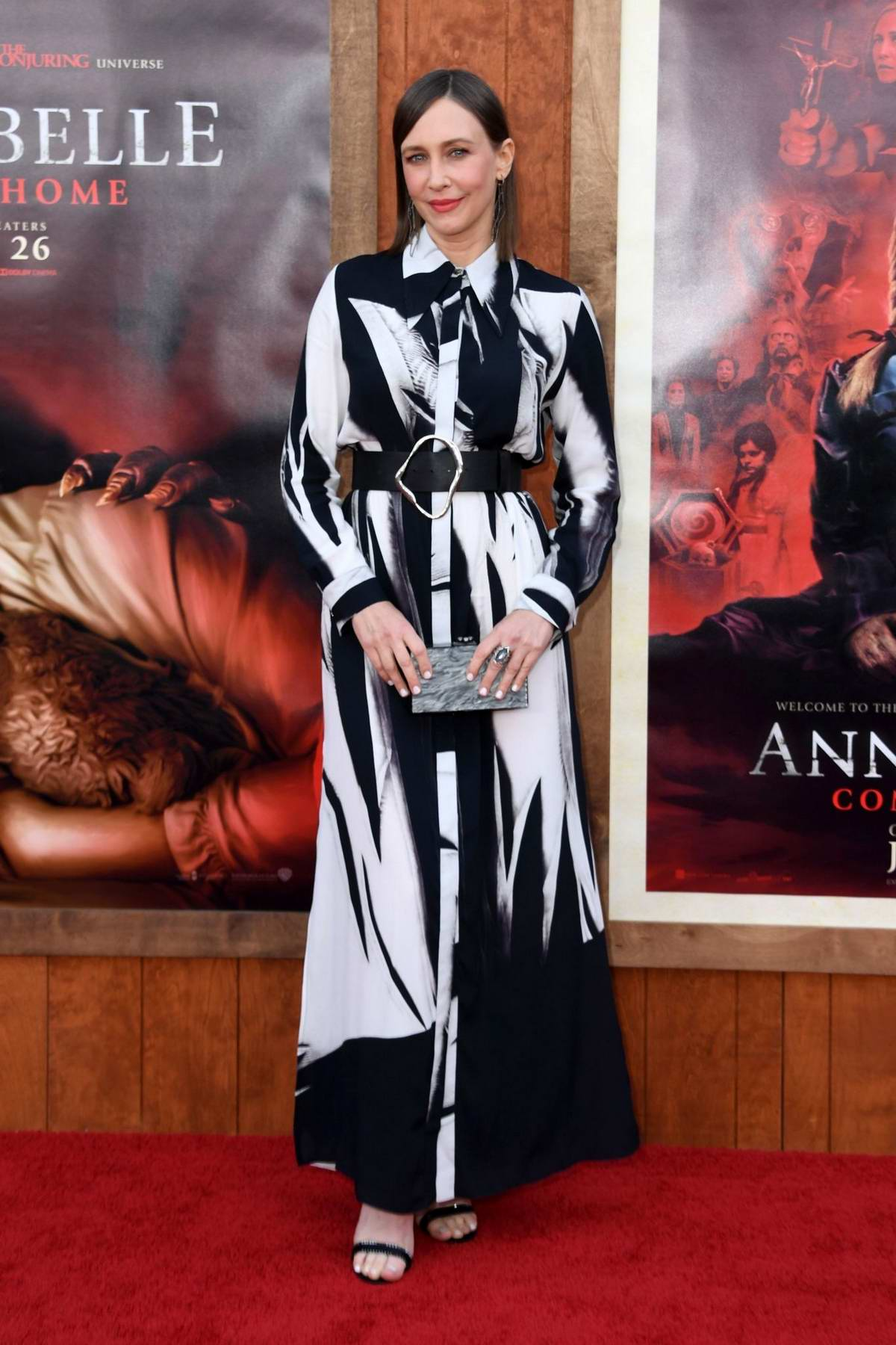 Vera Farmiga attends the World Premiere of 'Annabelle Comes Home' at the Regency Village Theatre in Los Angeles