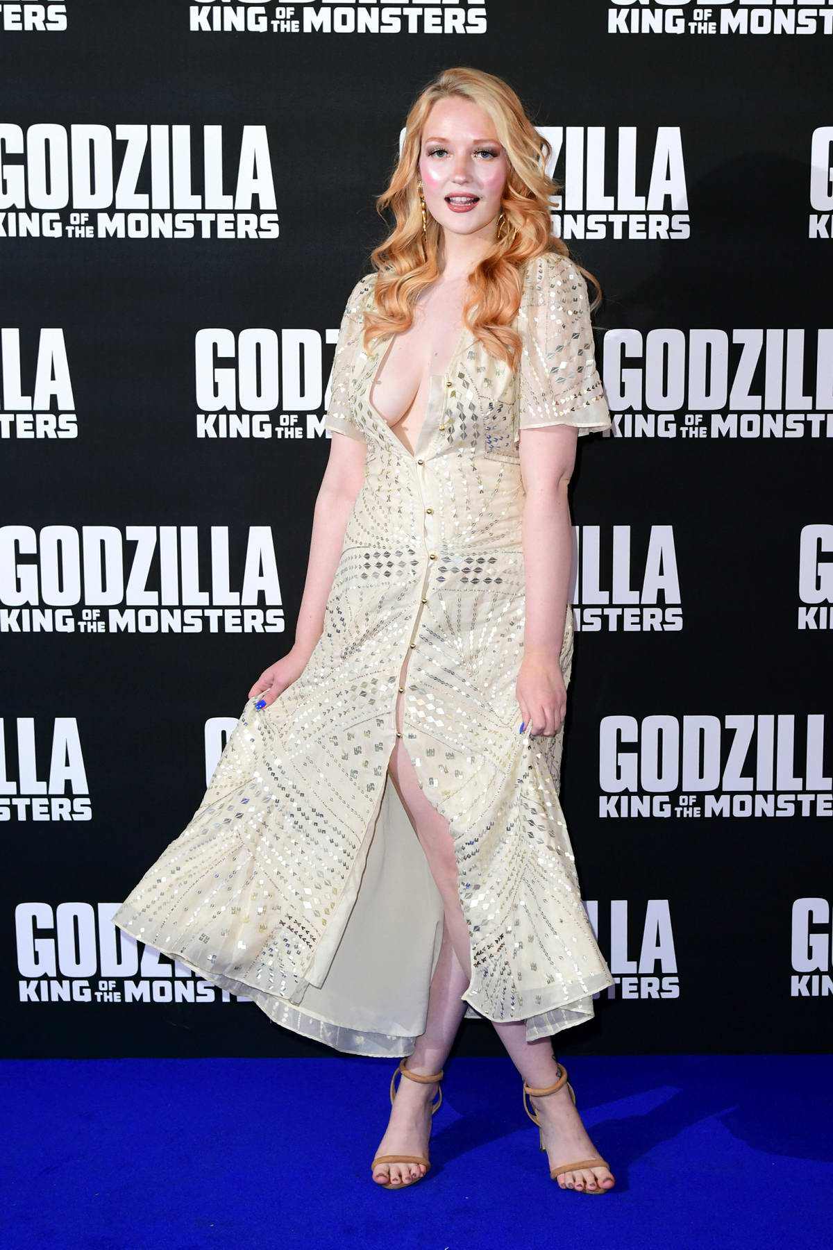 Victoria Clay attends the special screening of 'Godzilla: King Of The Monsters' in London, UK