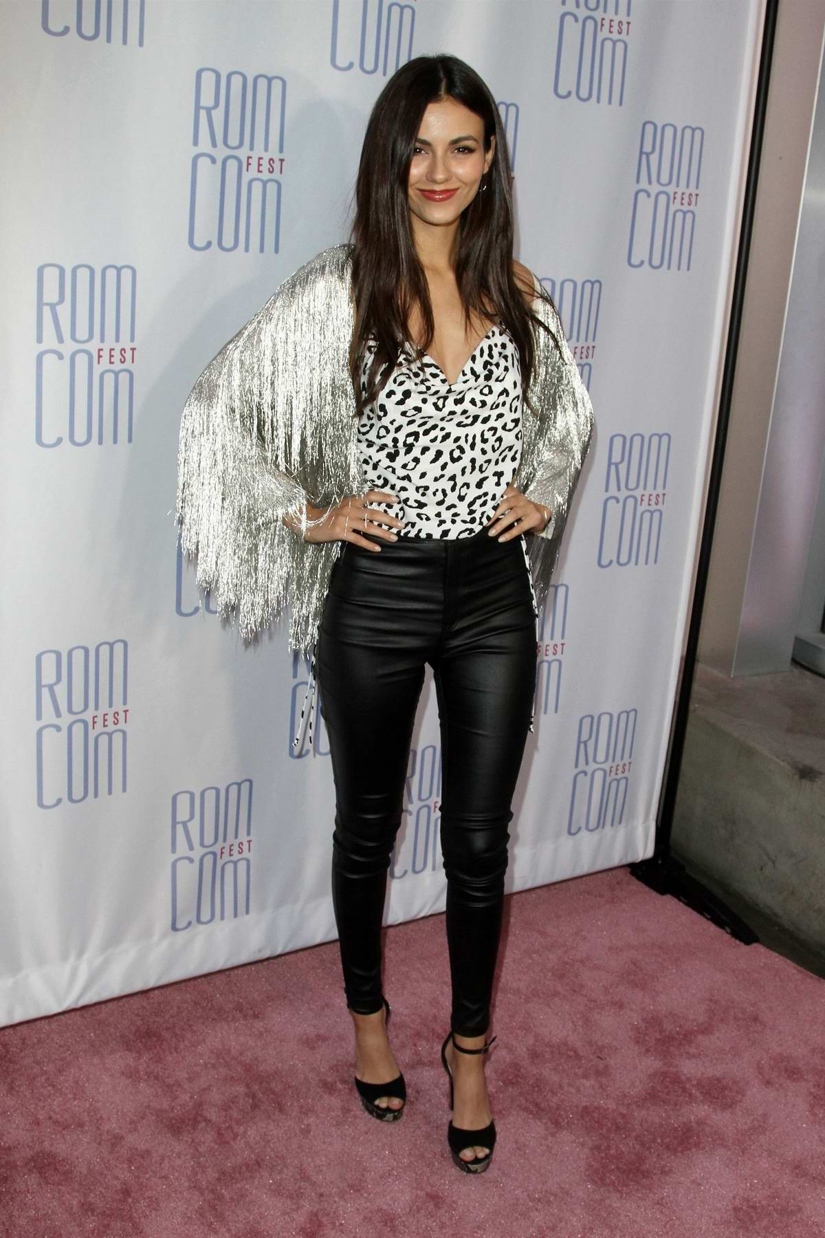 Victoria Justice attends the screening for 'Summer Night' at Rom Com Fest held at The Downtown Independent Theatre in Los Angeles