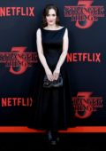 Winona Ryder attends the premiere of Netflix's 'Stranger Things' Season 3 in Santa Monica, California