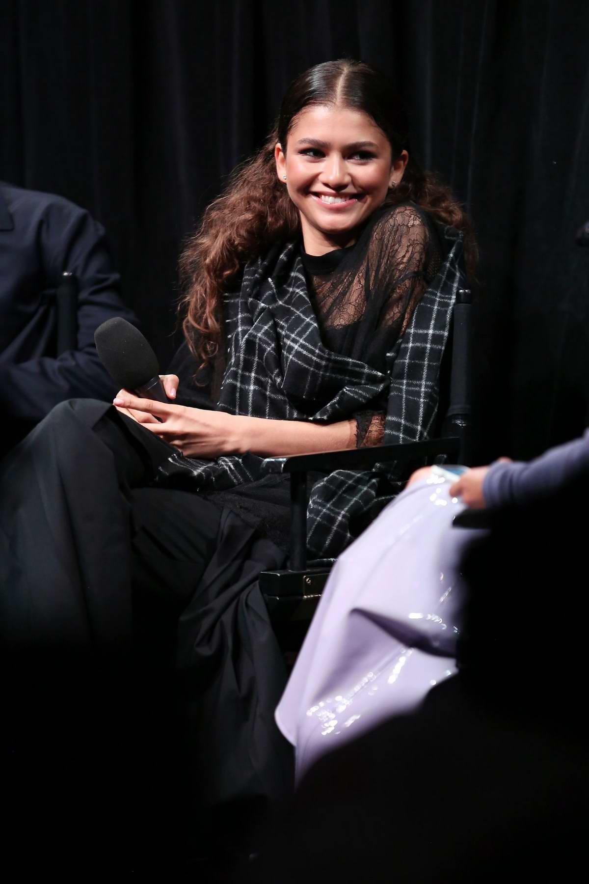 Zendaya attends a screening of HBO's 'Euphoria' in New York City