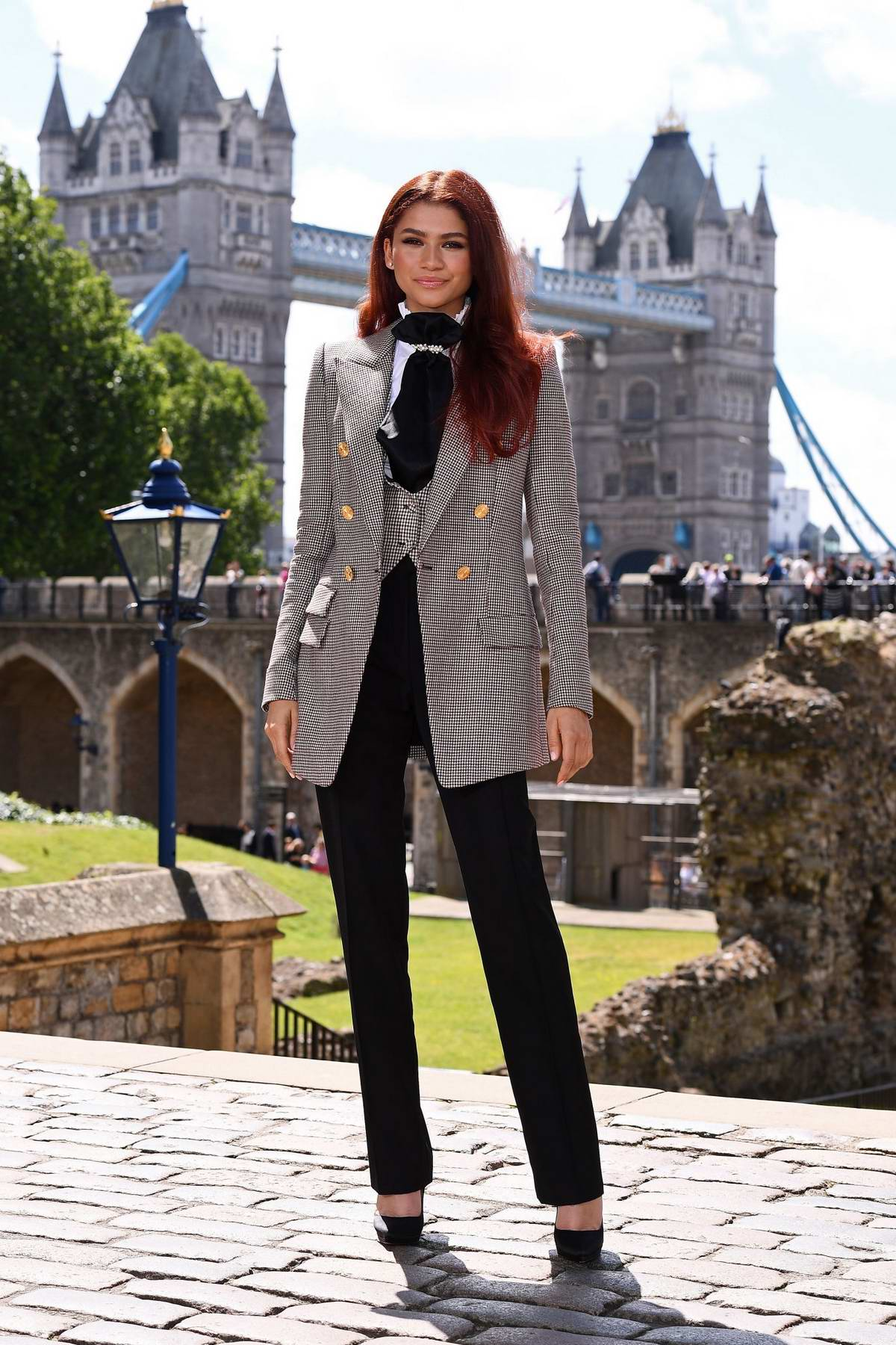 Zendaya Coleman attends 'Spider-Man: Far From Home' photocall in London, UK