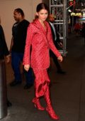 Zendaya sports all red ensemble as she steps out in New York City