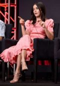 Abigail Spencer attends 'Reprisal' Panel during Hulu TCA Summer Press Tour at The Beverly Hilton Hotel in Beverly Hills, Los Angeles