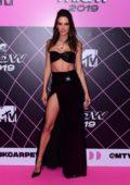 Alessandra Ambrosio attends the 2019 MTV Millennial Awards in Sao Paulo, Brazil