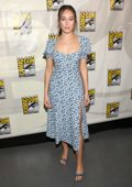 Alycia Debnam-Carey attends AMC's Deadquarters during 2019 Comic-Con International in San Diego, California