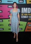 Alycia Debnam-Carey attends the #IMDboat at the IMDb Yacht during Day Two of 2019 Comic-Con International in San Diego, California