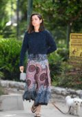 Ana de Armas spotted walking her dog in Los Angeles