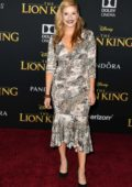 Anneliese van der Pol attends the premiere of Disney's 'The Lion King' at Dolby Theatre in Hollywood, California