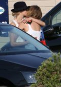 Ashley Benson and Cara Delevingne pack on some PDA while out on a lunch date during their vacation in Saint-Tropez, France