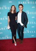 Barbara Palvin and Dylan Sprouse attend the special screening of 'The Farewell' in New York City