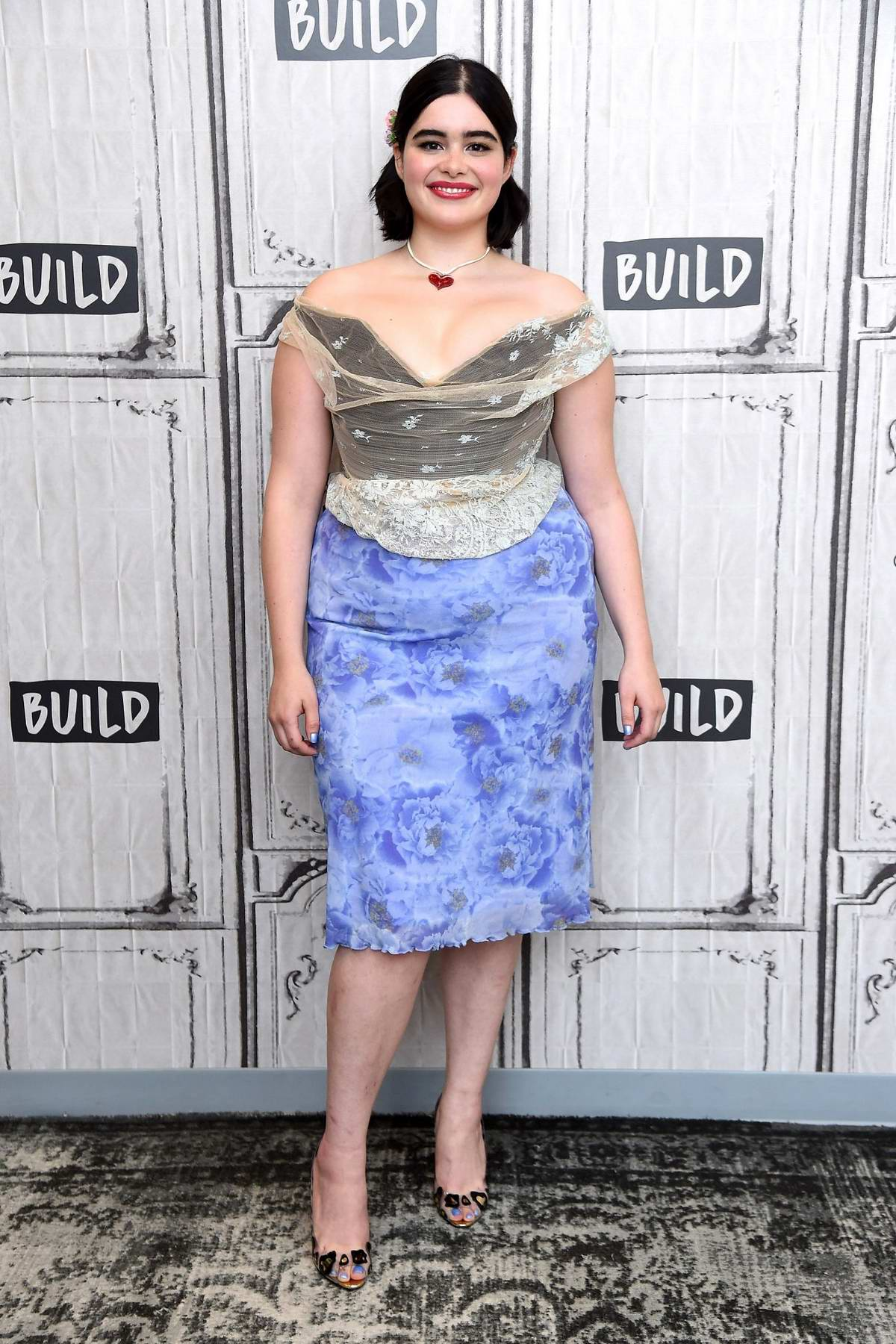 Barbie Ferreira visits the Build Series to discuss 'Euphoria' at Build Studio in New York City