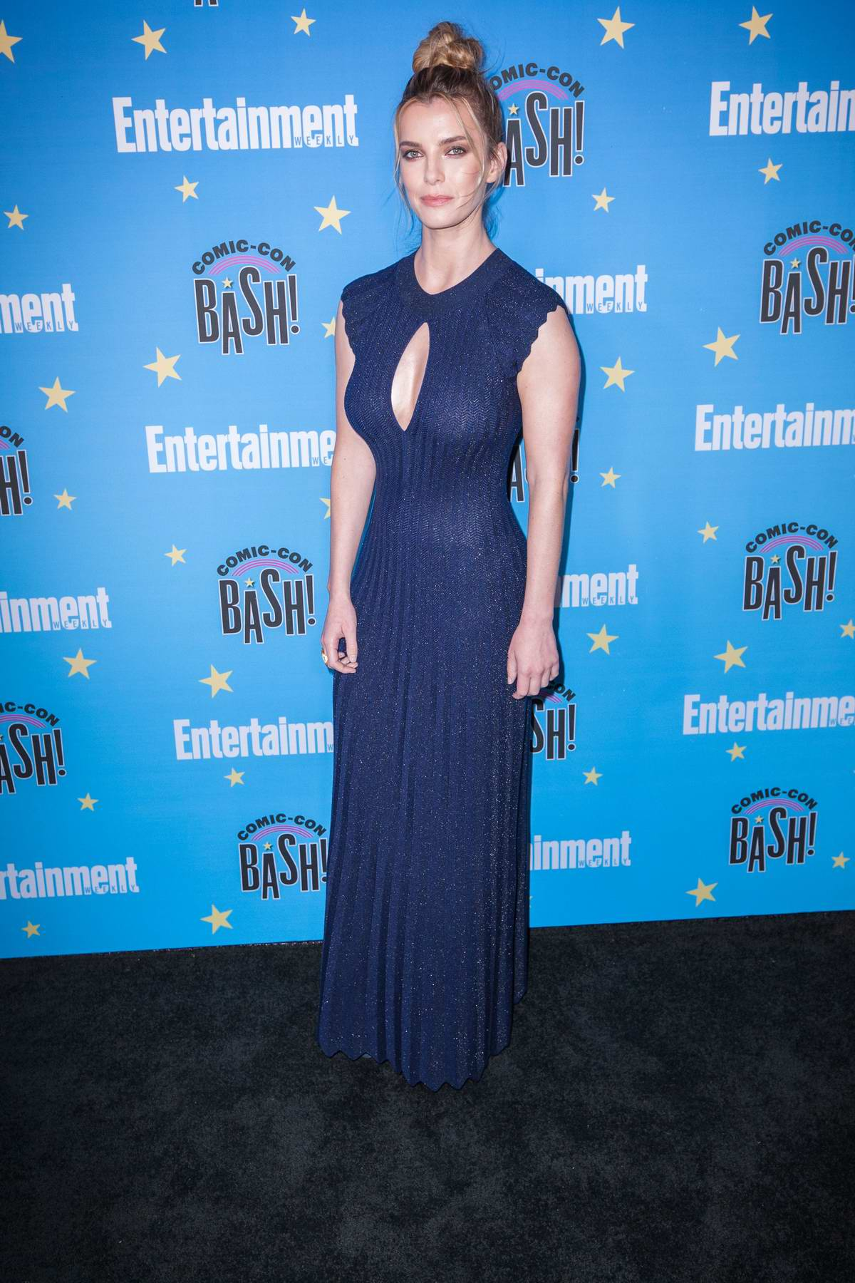 Betty Gilpin attends Entertainment Weekly's 2019 Comic-Con Bash held at FLOAT, Hard Rock Hotel in San Diego, California
