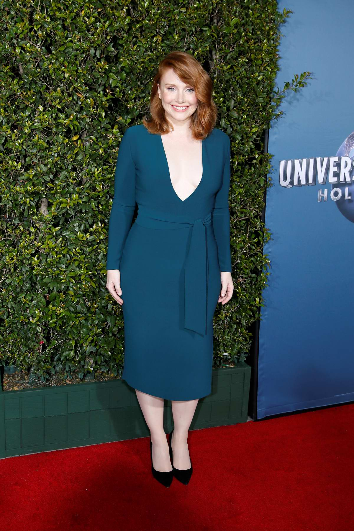 Bryce Dallas Howard attends the grand opening of 'Jurassic World - The Ride' at Universal Studios in Los Angeles