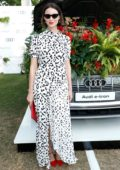 Caitriona Balfe attends as Audi guest at Henley Festival in Henley-on-Thames, England