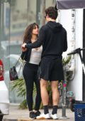 Camila Cabello stepped out for a romantic coffee date with Shawn Mendes in West Hollywood, Los Angeles