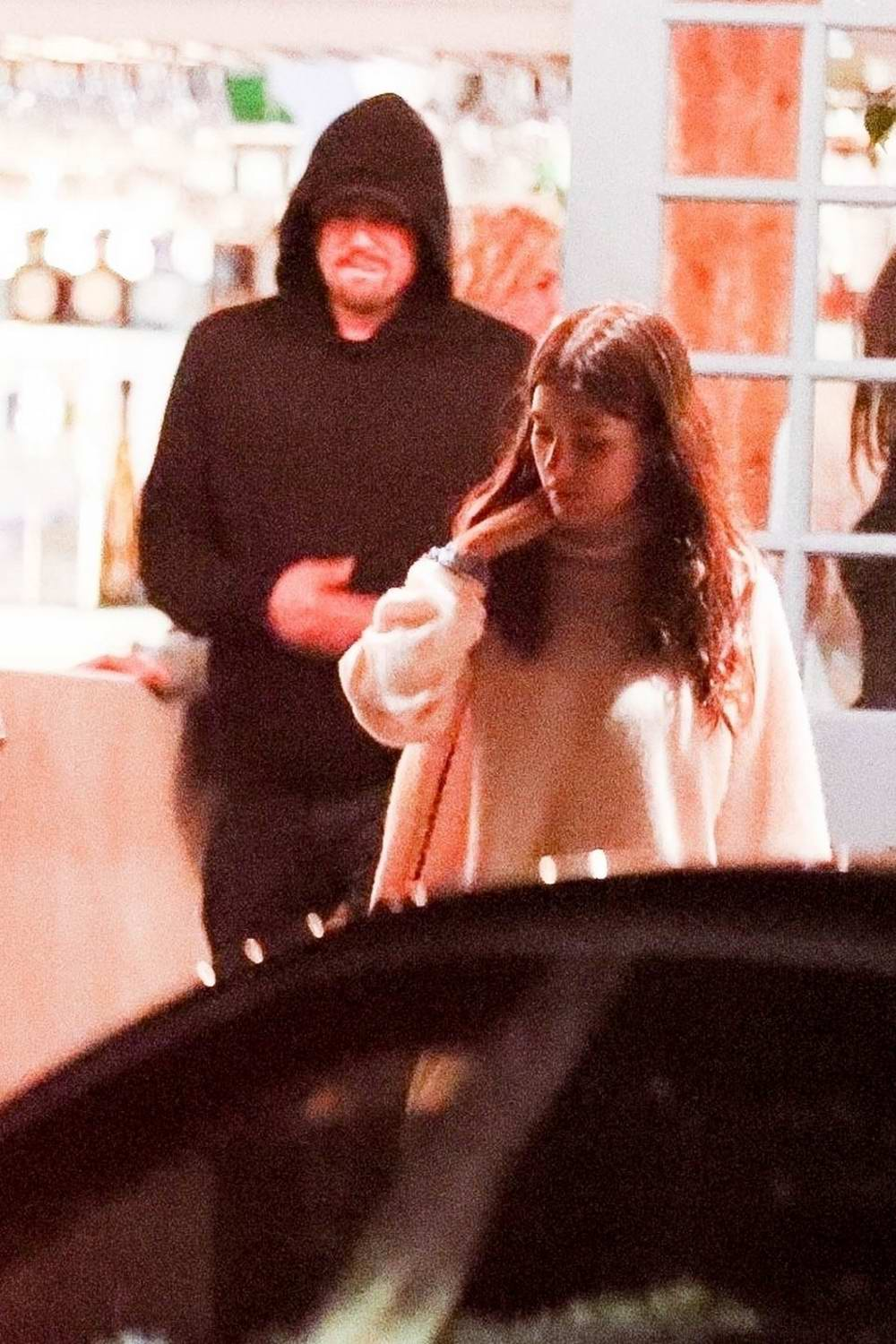 Camila Morrone and Leonardo DiCaprio end their 4th of July celebration with a late night dinner at Taverna Tony in Malibu, California