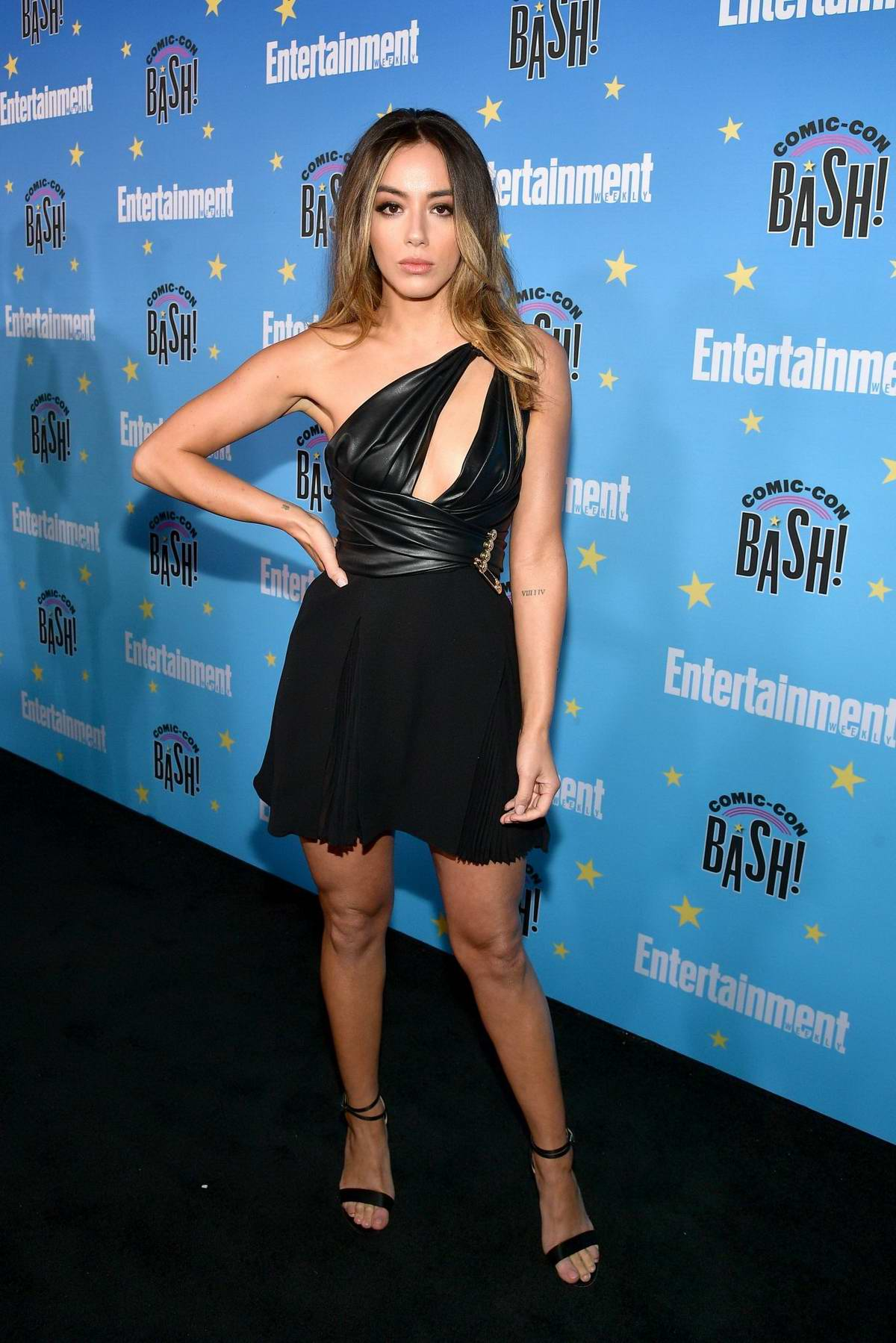Chloe Bennet attends Entertainment Weekly's 2019 Comic-Con Bash held at FLOAT, Hard Rock Hotel in San Diego, California