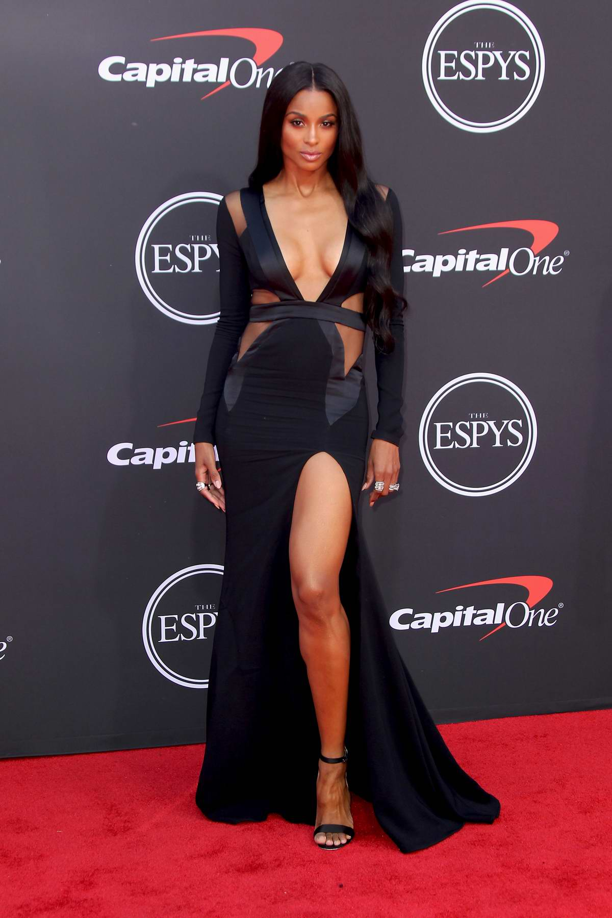 Ciara attends the 2019 ESPY Awards at the Microsoft Theatre in Los Angeles