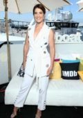 Cobie Smulders attends the #IMDboat at the IMDb Yacht during 2019 Comic-Con in San Diego, California