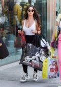 Demi Rose seen shopping on Rodeo Drive in Beverly Hills, Los Angeles