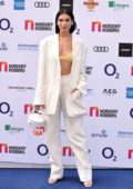 Dua Lipa attends the O2 Silver Clef Awards at the Grosvenor House Hotel in London, UK