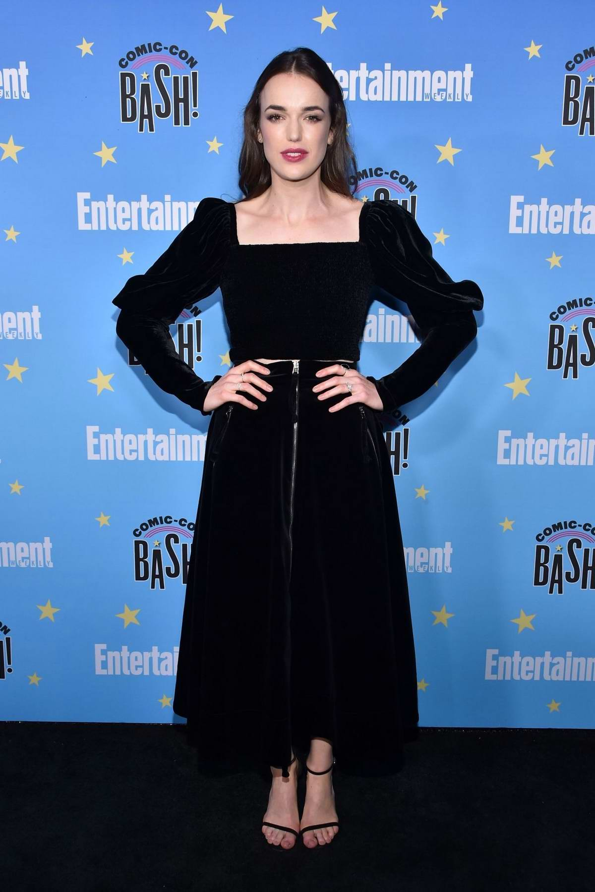 Elizabeth Henstridge attends Entertainment Weekly's 2019 Comic-Con Bash held at FLOAT, Hard Rock Hotel in San Diego, California
