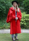 Ellie Goulding receives an honorary Doctor of Arts degree from the University of Kent, UK
