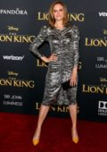 Emily Deschanel attends the premiere of Disney's 'The Lion King' at Dolby Theatre in Hollywood, California