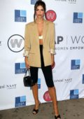 Emily Ratajkowski attends the WrapWomen 2019 Power Women Breakfast in New York City